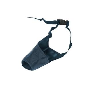 Muselière en nylon noir - 4 XL 884353