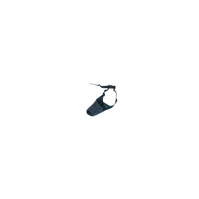 Muselière 10 cm petit chien nylon noir Martin Sellier 803422
