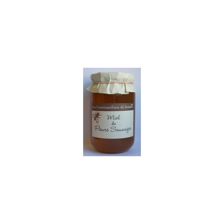 Miel de fleurs sauvages bio en pot de 250 g 351907