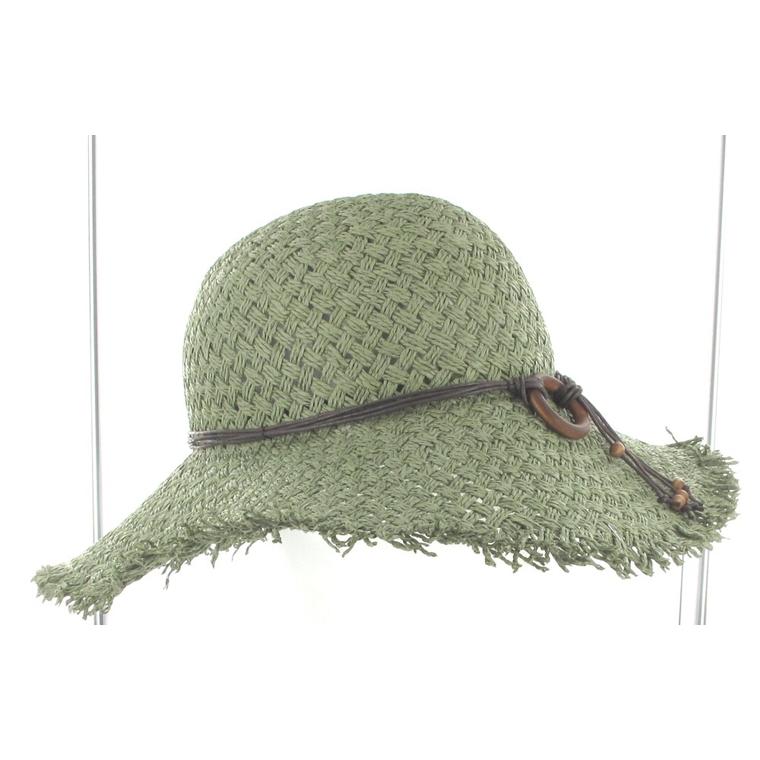 Chapeau de paille fanny beige pour femme taille unique 81024