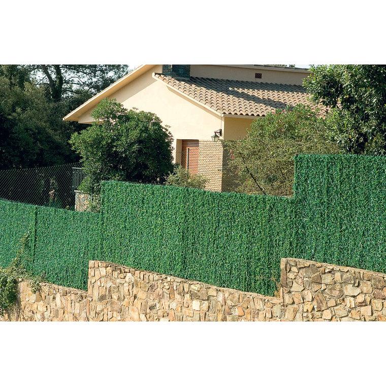 Haie artificielle Compovert, coloris vert, 300 x 100 cm 81065