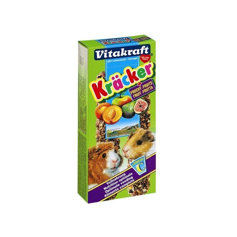 Kräcker cochons d'Inde x2 fruits Vitakraft 117g