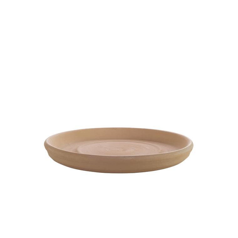 Soucoupe ronde en terre cuite D.52 822900