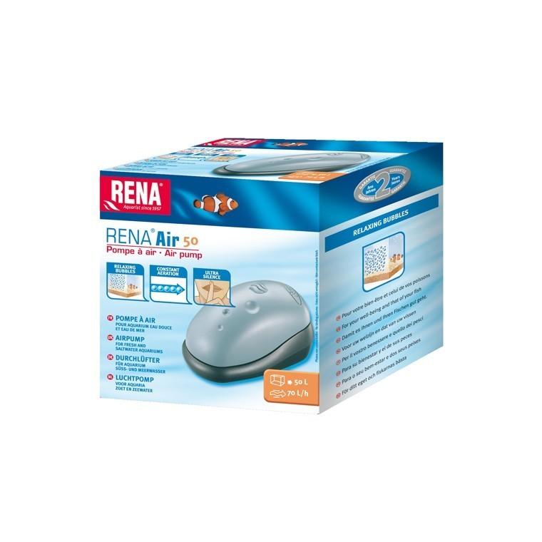 Pompe à air aquarium Rena 50