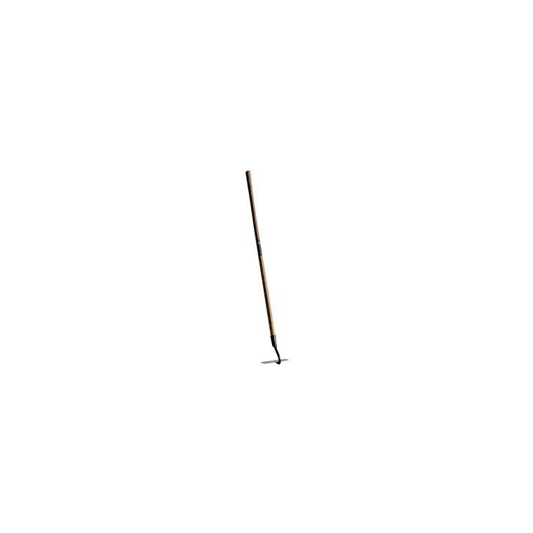 Binette forgée marron en acier manche bois 140 cm 846050