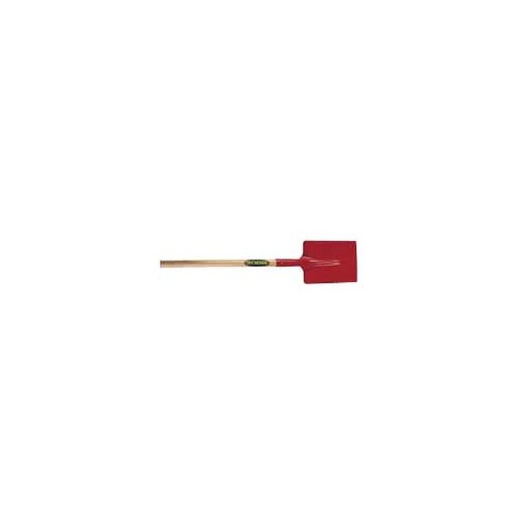 Pelle carrée en acier 23x27 cm manche en bois 110 cm 848725