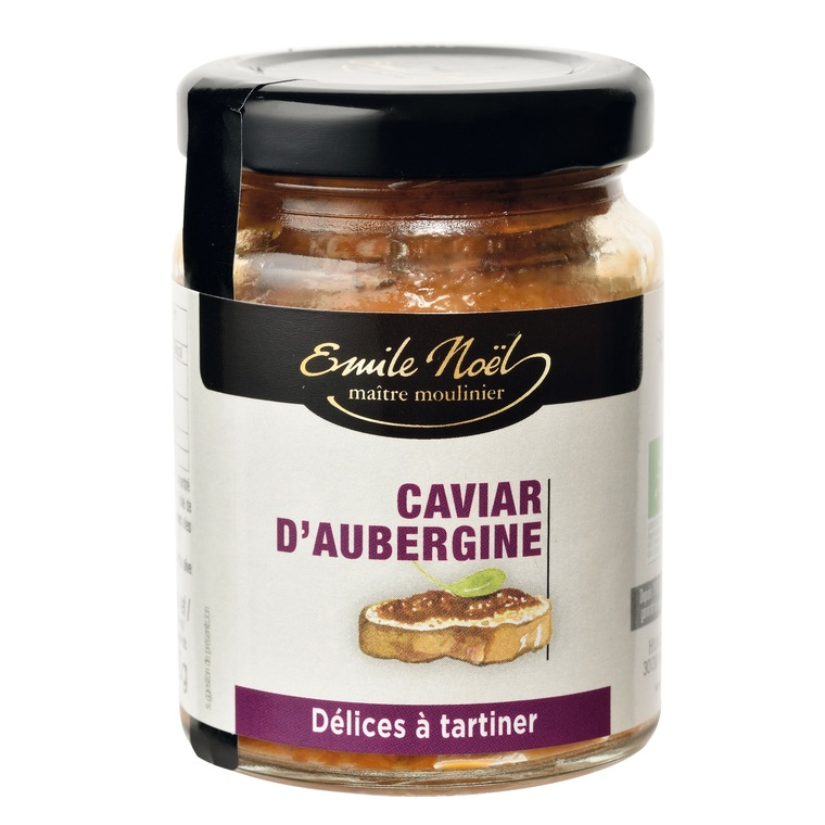 Caviar d'aubergine bio en pot de 90 g 851328
