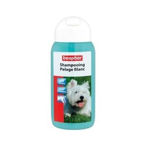 Shampooing pelage blanc chiens Beaphar