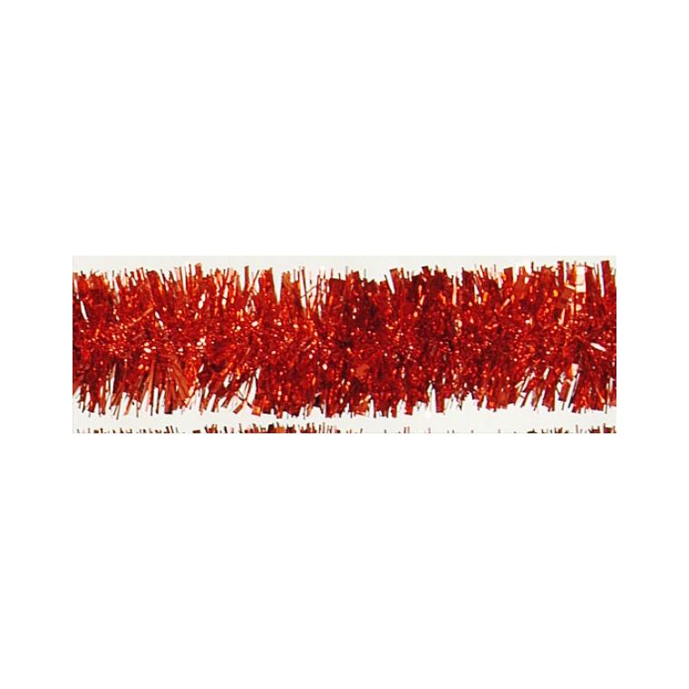 Guirlande à facettes couleur rouge 855690