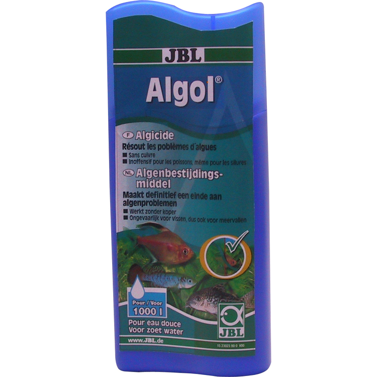 Conditionneur d'eau algol Jbl bleu 250 ml 872883