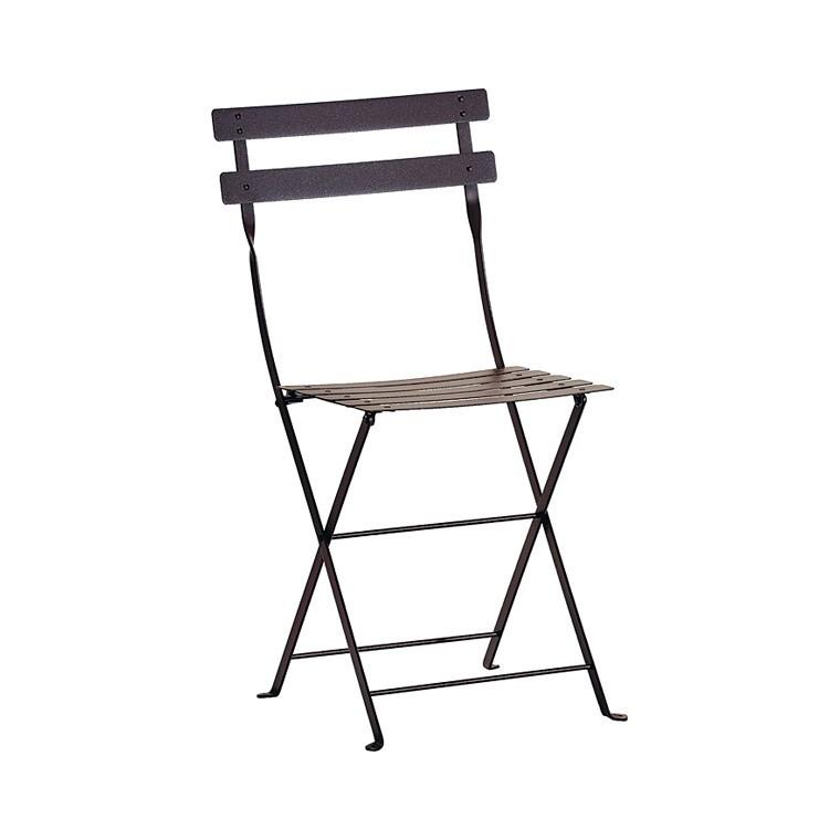 Chaise Pliante Bistro Metal Tables Et Chaises De Jardin FERMOB Nos