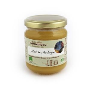 Miel de montagne de France bio en pot de 250 g 915824