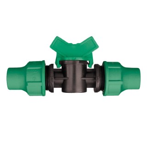 Vanne d'arrêt d'eau avec bague de serrage D 16 mm 918772