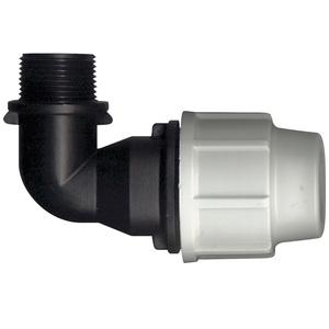 Raccord de compression avec coude taraude Plasson 20 x 27 x Ø 25 mm 925179