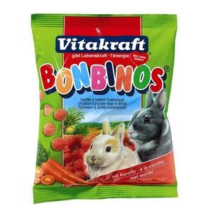 Drops carotte lapin nain Bonbino'S Vitakraft 40g 925871
