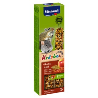 Kräcker souris x2 Corn & Fruit Vitakraft 60g 925879