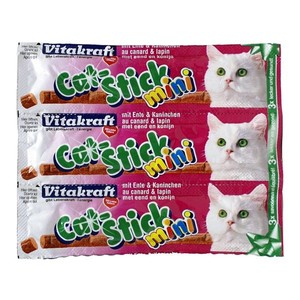 Cat Stick mini canard et lapin x3 Vitakraft 18g 957108