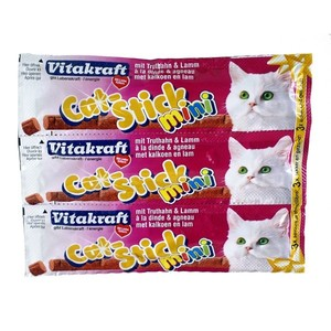 Cat Stick mini Dinde et Agneau x3 Vitakraft 18g 957112
