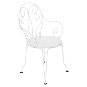 Fauteuil de jardin Montmartre Fermob blanc 963807