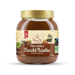 Pâte à tartiner Bio noisettes et cacao – 750 gr 974477