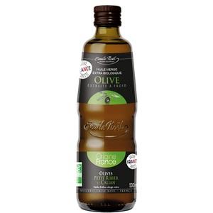 Huile d'olive de France bio en bouteille de 500 ml 975070