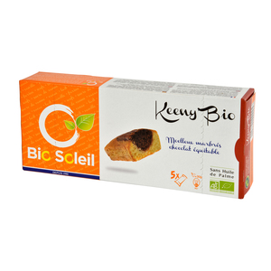 Keeny'bio marbré au chocolat équitable 150 g 975073