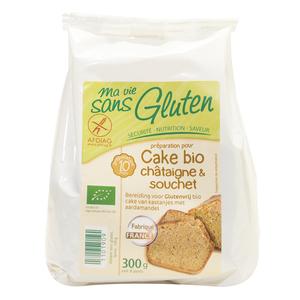 Préparation pour cake châtaigne et souchet sans gluten 300 g 975535