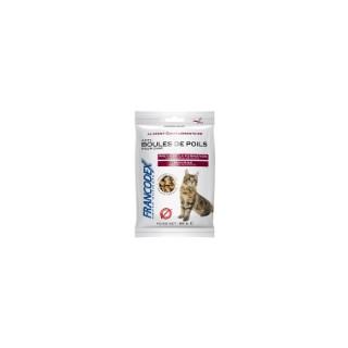 Friandises anti-boules de poils pour chat Francodex - 60 gr 975839