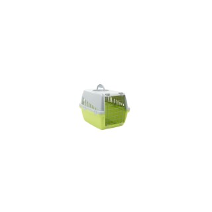 Cage de transport Trotter 1 vert citron 49x33x30 cm 975859
