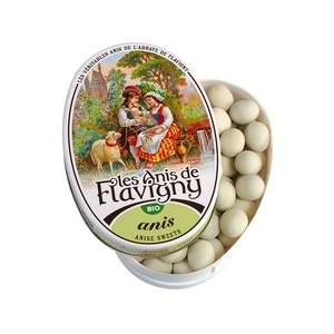 Bonbons à l'anis Bio - boîte ovale 50 g 98203