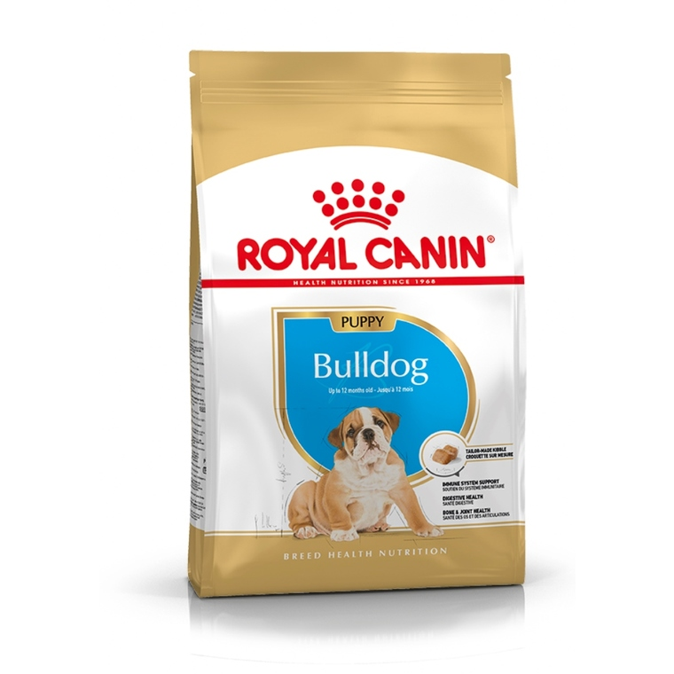 Croquette 3kg Bulldog anglais junior Royal Canin