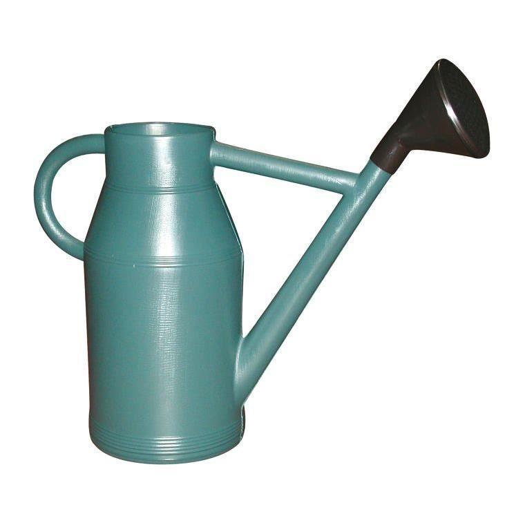 Arrosoir rond lyonnais vert métal de 6 litres 912927