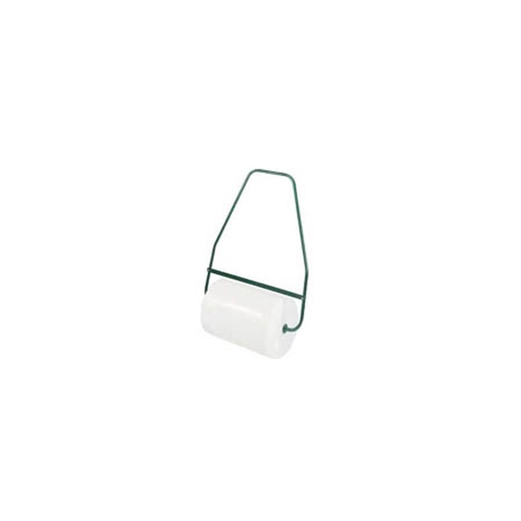 Rouleau à gazon plastique blanc 70 cm avec brancard acier 913317