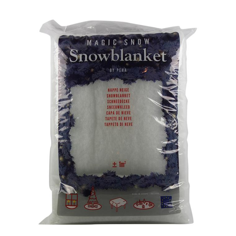 Couverture de neige blanche 1x1m 922302