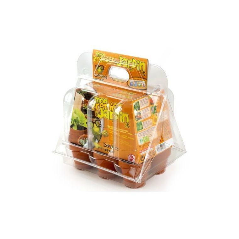 Mini-serre 6 pots enfants 922652