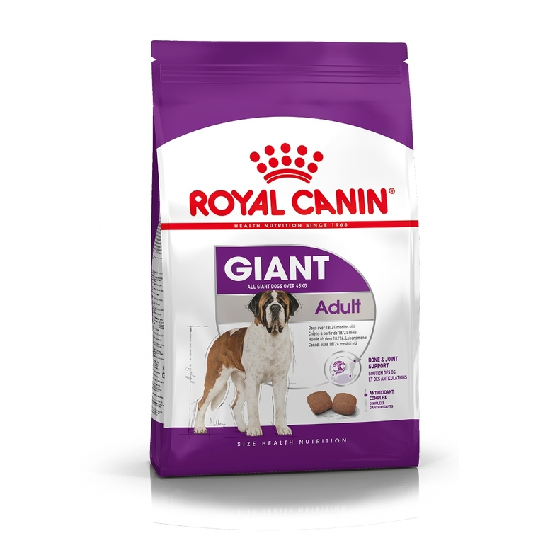 Croquette 4kg Giant adulte Royal Canin 923438