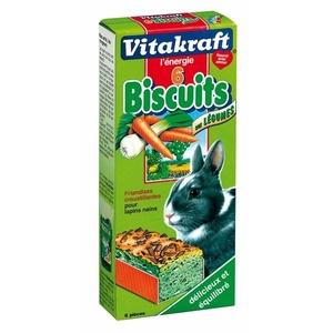 Biscuits aux légumes x6 lapins nains Vitakraft 70g