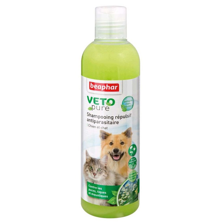 Shampooing insectifuge chiens/chats Beaphar 250 ml