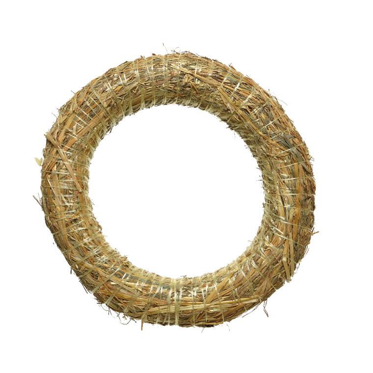 Couronne de paille – 40 cm de diamètre 941037