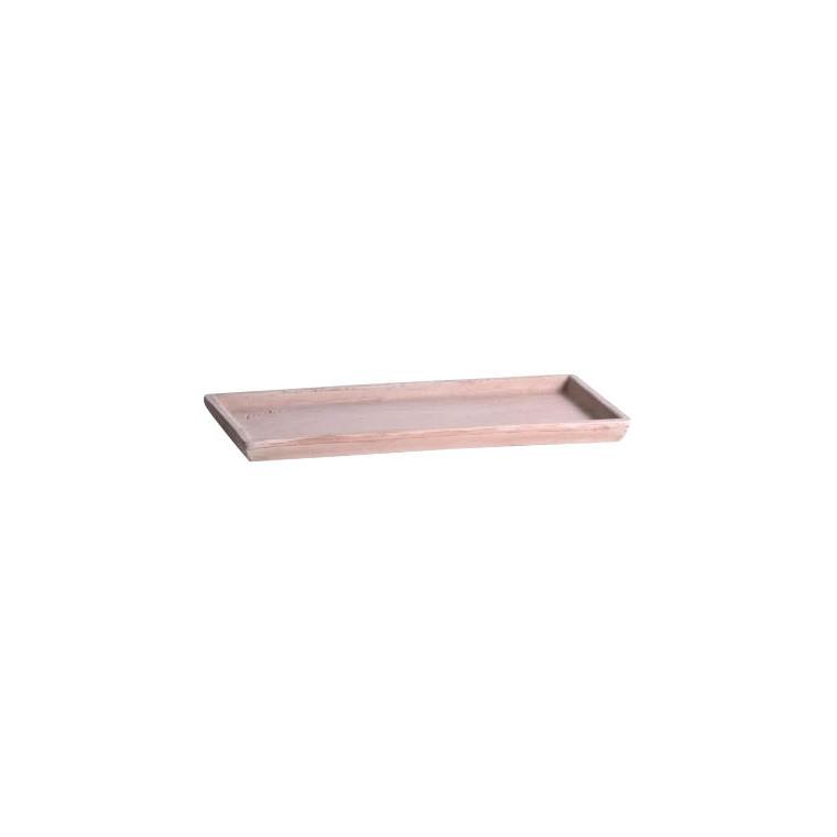 Soucoupe rectangulaire L.21x44 941504