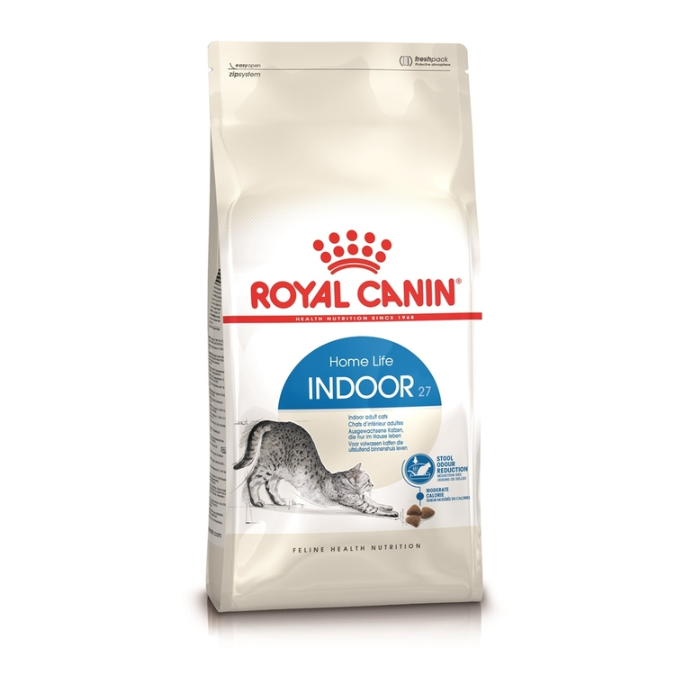 Croquettes Royal Canin Indoor27 400 g