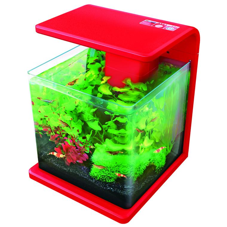 Aquarium Wave 15 rouge 18L 975326
