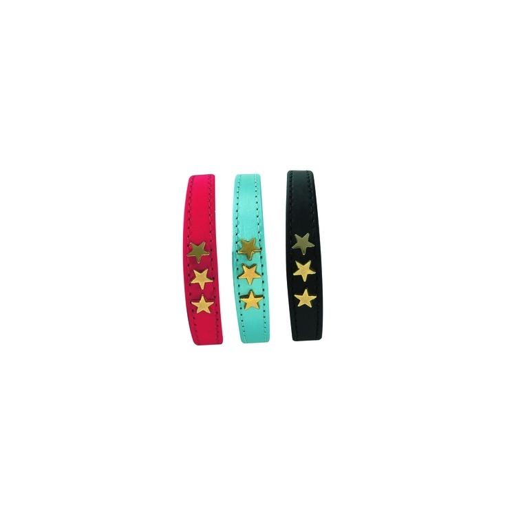 Collier pour chat étoiles rouge - 30 cm 975788