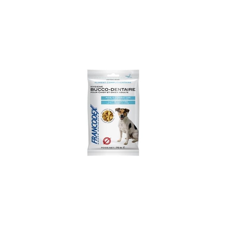 Friandises hygiene bucco-dentaire pour chien