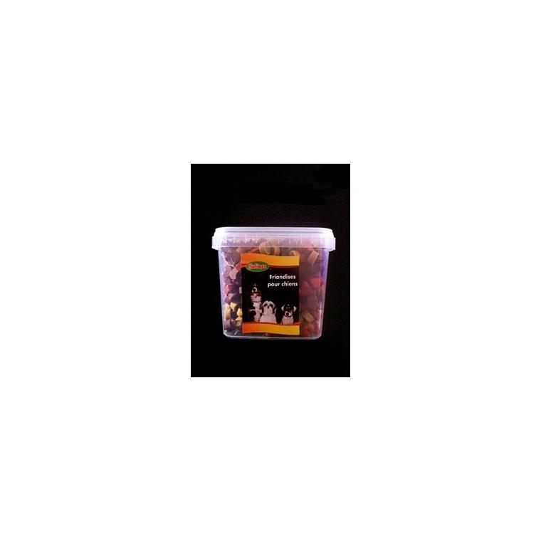 Pot de snacks Bubimex lunes et cœurs à l'agneau 750 g