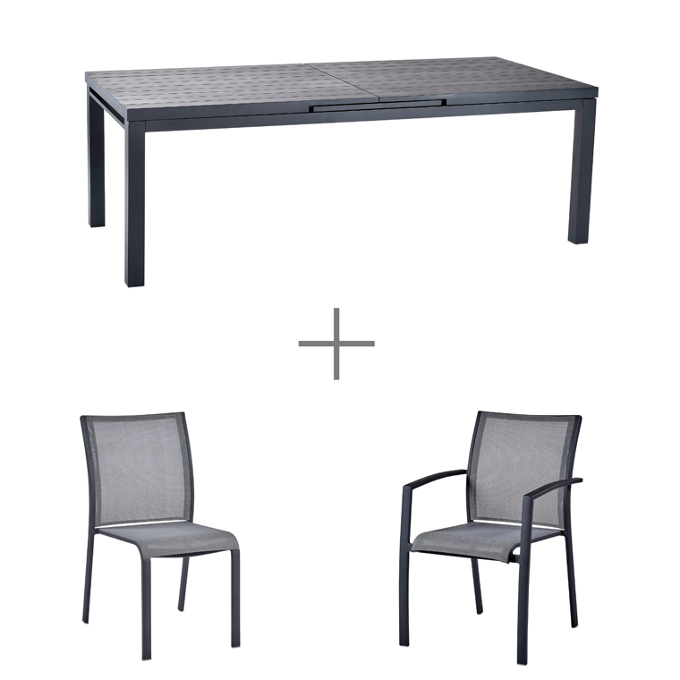 Emejing Table De Jardin Aluminium Botanic Ideas - House Design ...