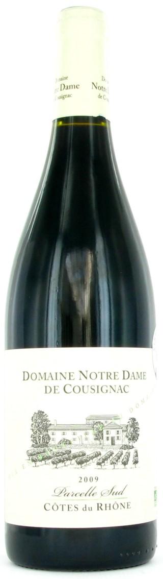 Cotes du rhône AOC, Parcelle Sud Rouge - Le carton de 6 bouteilles L000022
