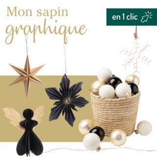 Lot décoration du sapin Graphique botanic® L000191