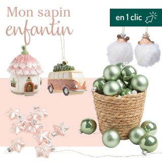Lot décoration du sapin enfantin botanic® L000192