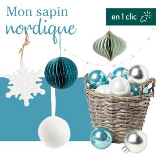 Lot décoration du sapin Nordique botanic® L000193